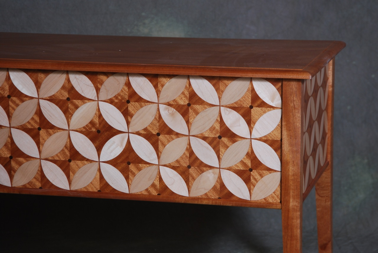 parquetry desk finished 2