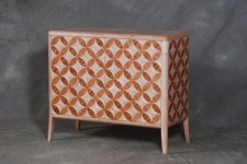 Custom Credenza with Parquetry