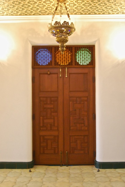 & Making a pair of Turkish doors with 74 panels