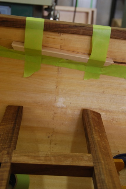 solo glueing seat blocks